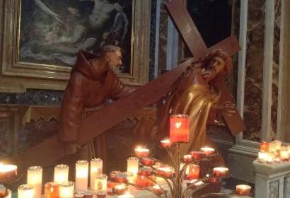 Cross Statue San Salvatore in Lauro